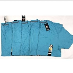 5 Mens Fruit of the Loom Crew Neck Short Sleeve S